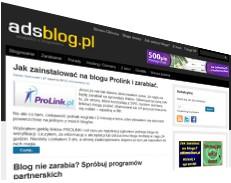 budowanie zaplecza adsblog